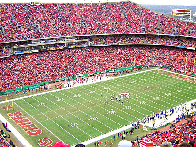 Kansas City Chiefs Upper Red View