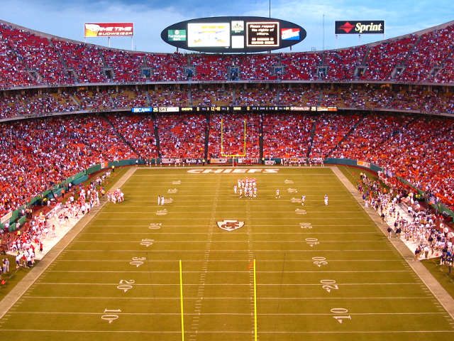 Kansas City Chiefs Upper Touchdown Zone ...